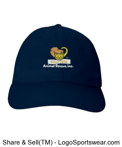Navy ARI Hat Design Zoom
